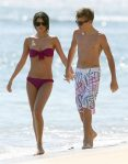 SEMI-EXCLUSIVE: Justin Bieber And Selena Gomez Showing Off Their